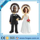 Подгонянные пары Polyresin Bobble головка для венчания
