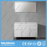 La unidad moderna vendedora caliente de la vanidad del cuarto de baño del abrigo del vinilo con dos drena (BC139V)
