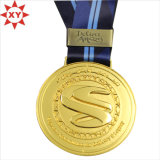 3D Gold e Antique Copper Football Sport Medal (XY-mxl92602)