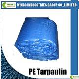 Le PE a feuilleté le tissu tissé pour la couverture au sol, bâche de protection stratifiée de PE pour la couverture de tente, couverture de camion