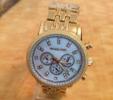 De Mode van de Diamant Mk van de kalender Dame Fashion Watch