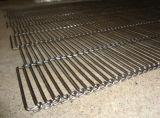 Correas inoxidables de la flexión del plano de acero