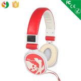 Gummistereokopfhörer-Qualitätskopfhörer Earbud wiederholt gute Kopfhörer