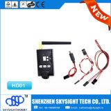 Transmisor video sin hilos de la gama larga de Sky-HD01 Aio 400MW 32CH y cámara de 1080P HD