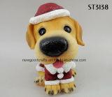 Ornamento diritto della Tabella del Doggy di natale della decorazione di natale
