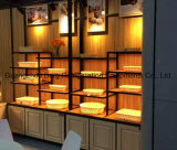 Витрина индикации высокого качества деревянная для хлеба