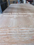 4*8 Size Red Oak Veneer Blockboard Falcata Core