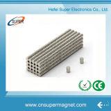 I forti tondi ad alta resistenza dei cilindri dei dischi diametralmente hanno magnetizzato il neodimio N35