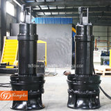 Pompe submersible pour eaux usées pour le traitement de l'eau