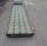 Placas de material para techos revestidas del color para las casas estructurales de acero