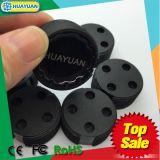 Etiqueta elegante del cubo de la basura de la frecuencia ultraelevada del tornillo RFID de las muestras libres para la solución de la gestión de desechos