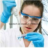 Luvas descartáveis médicas do exame do nitrilo