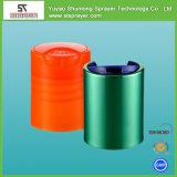 Bottiglia parteggiata diritta vuota dell'animale domestico del cilindro per il gel 200ml dell'acquazzone con la protezione superiore di Filp del fungo