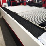 Utensílios do aço inoxidável do metal da fibra do CO2 que manufaturam a máquina de gravura da estaca