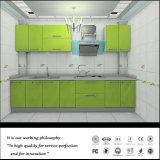 Laquer 녹색 부엌 가구 (Fy8769)