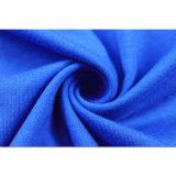 Camicia di polo blu di golf di modo del cotone degli uomini su ordinazione di alta qualità