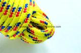 Веревочка 6mm Non-Woven ткани полипропилена пакуя Braided