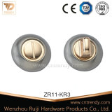 Quadratisches Rosette-/Zink-Legierungs-Tür-Firmenschild mit Zylinder-Loch (ZR11/KR3)
