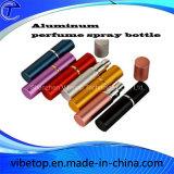 Mini frasco de alumínio portátil do pulverizador do perfume