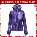 Femmes 100% Polyester Soft Shell Jacket Ski