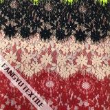 Tessuto rotondo popolare del merletto del cotone del fiore per il vestito