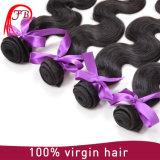 GroßhandelsRemy Haar-preiswerte Jungfrau-brasilianisches Karosserien-Wellen-Haar