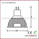 4 фара шарика W MR16 DC/AC 12V СИД для витрины ювелирных изделий