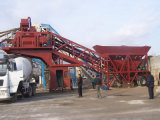 캐나다에 있는 Yhzs25 Movable Concrete Mixing Plant Popular