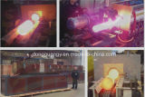 Промышленная индукционная кузнечная печь 400 кВт для стальной заготовки