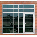 Window / Stainless Steel Door / Window with Door Together / (6731)