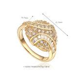 Imiter autour du clip sur 24 boucles d'oreille d'or de carat
