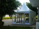 Шатер Pagoda рамки верхнего сада сбывания напольного алюминиевый с стеклянной дверью