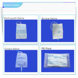 Urine Bag 2000ml 1000ml 100ml Medical Use