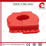 Cierre ajustable resistente de la válvula de puerta con el candado de la seguridad