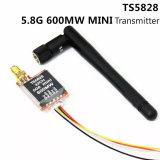 Mini Fpv émetteur audio sans fil de poids du commerce de vidéo de Skyzone TS5823 5.8G 5.8GHz 200mW 32CH pour la chaîne du fantôme 1.5km de Dji