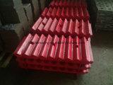 Plaque de maxillaire de broyeur de maxillaire dans la qualité et le prix usine