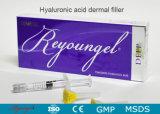 Llenador cutáneo facial de las inyecciones del ácido hialurónico de Reyoungel