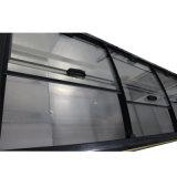 замораживатель острова раздвижной двери индикации витрины 800L для супермаркета