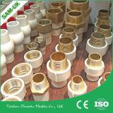 Válvula de esfera plástica de venda quente do material de construção CPVC do edifício do punho para a fonte de água