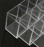 Entreposage en boîte de présentation de tiroirs de l'acrylique 24 d'espace libre d'organisateur de rouge à lèvres de produits de beauté de maquillage