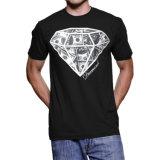 Le T-shirt imprimé bon marché des hommes faits sur commande en gros