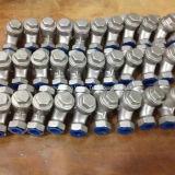Задерживающий клапан подъема резьбы CF8/CF8m/CF3/CF3m NPT/Bsp/BSPT