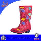 Красный цвет 68056 ботинка дождя детей слона