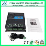30A MPPTソーラーコントローラー12 / 24V自動ソーラー充電コントローラ(QW-MT30A)