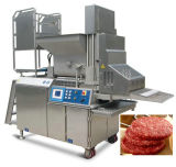 Hamburger formant la machine