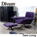 Sofá caliente del ocio de los muebles de la sala de estar de 2016 ventas de la nueva de la colección de Divany silla moderna de la colección D-34