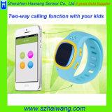 Kind-intelligenter Handy-Uhr GPS-Standort, der PAS-Tasten-Warnung aufspürt