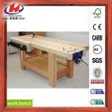 Tabela de trabalho de madeira da placa da junção do dedo da mobília barata