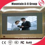 Hohe Auflösung-farbenreiche Hotel-Vorhalle örtlich festgelegte Innen-LED-Bildschirmanzeige