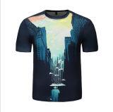 Pas T-shirt van de Mensen van de Manier 3D Digitale Afgedrukte aan